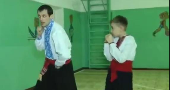 Бойовий Гопак у Вінниці – Вінницька Школа МФБГ: відео