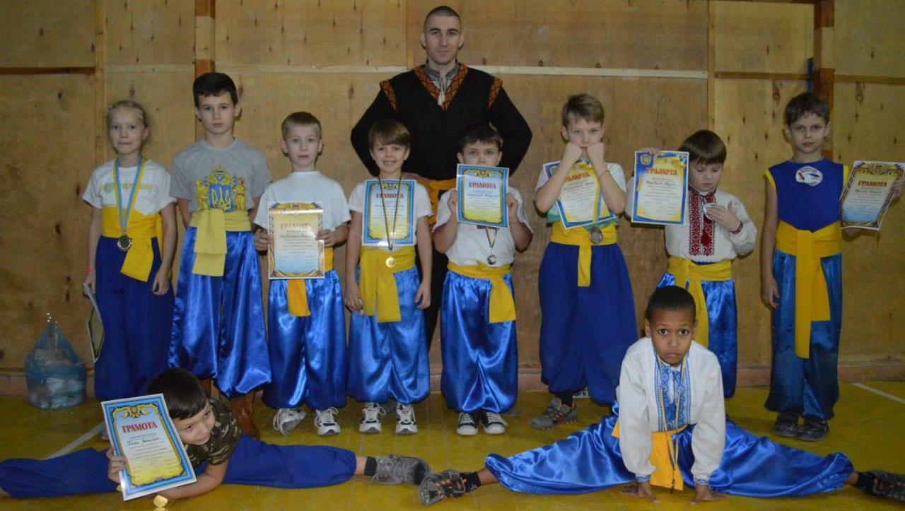 Бойовий Гопак – місто Вінниця – тренування