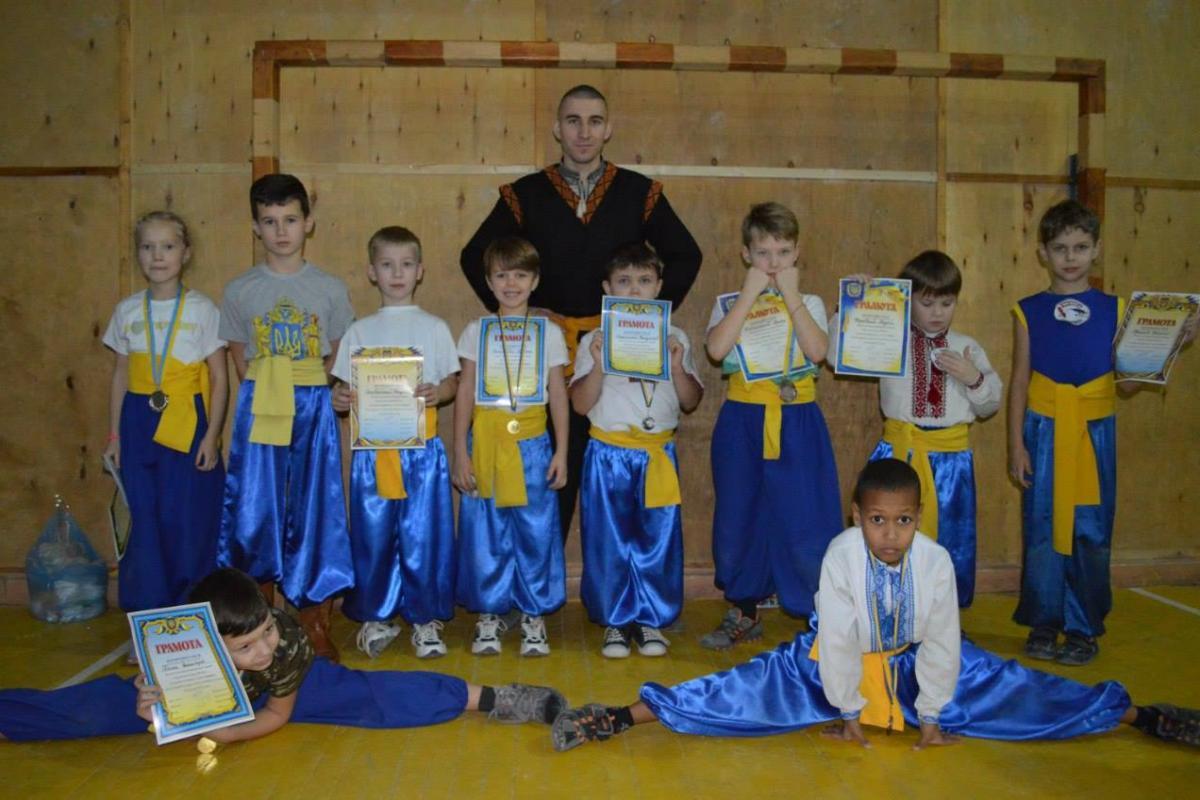* Заняття тренування з Бойового Гопака у місті Вінниця *