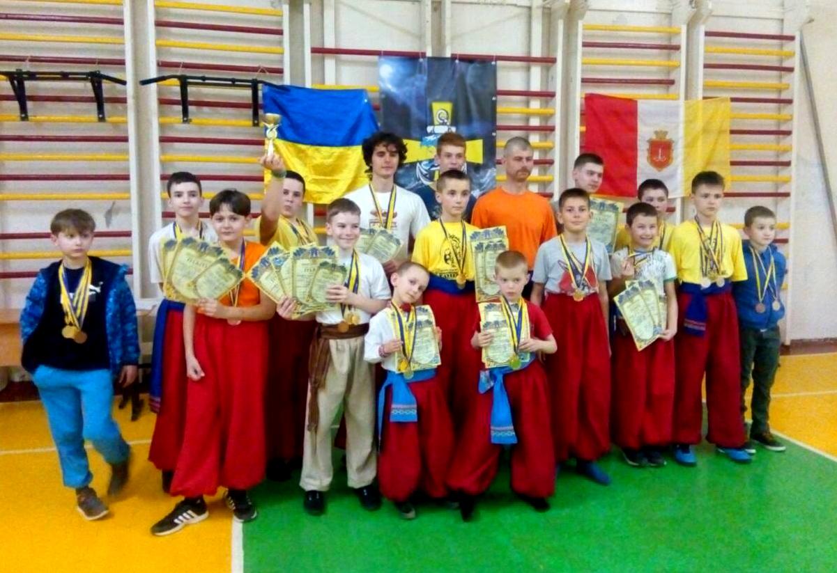 2-й відкритий чемпіонат Бойового Гопака Одеської области – 14.04.2018.